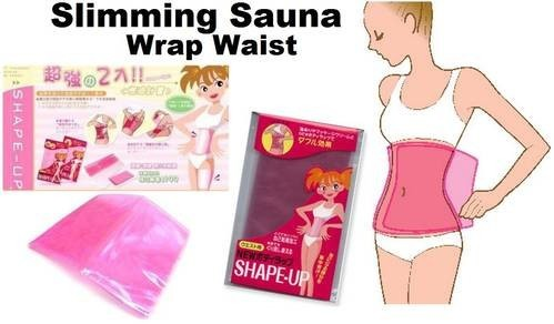 Shape Up Sauna Wrap Waist Pembakar Lemak - 716