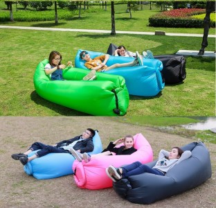 Sofa Angin Air Sofa Bed Lipat Murah Surabaya Inflatable Aneka Warna - 689