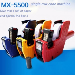 Single Row Price Labeller Machine Tag MX-5500 Pistol Tembak Kertas Label Harga Baju Pakaian � 979