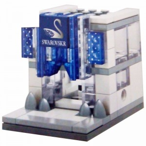 Sembo Block Toys SWAROVSKR City Series Mainan Anak SNI Lego Block Building � 987A