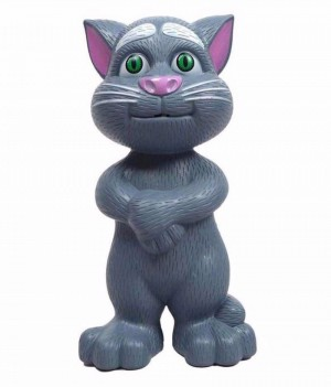 Talking Tomcat Boneka Tom Cat Kucing Bicara Nyanyi Dongeng Indonesia Telling Story Mainan Edu - 946