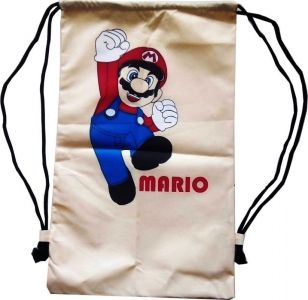 Tas Serut Ransel Mario Bros Mario Brother Game Nintendo Non Ori - 165