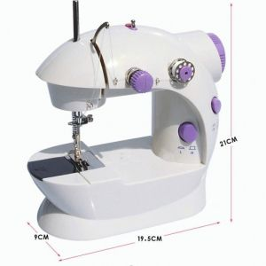 Mesin Jahit 2 in1 Alat Jahitan Pakaian Baju Mini Portable Sewing Machine 2in1 – 797