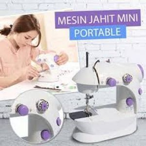Mesin Jahit 2 in 1 Alat Jahitan Pakaian Baju Mini Portable Sewing Machine 2in1 – 797