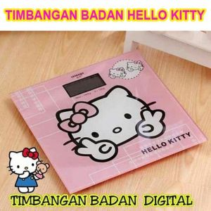 Timbangan Digital Hello Kitty Timbangan Badan HK Personal Weight Scale Karakter Motif  – 803