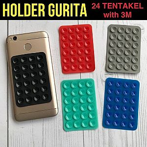 Tentakel Tentacle Gurita HP Motor Mobil Car Holder Gojek Uber Grab – 800
